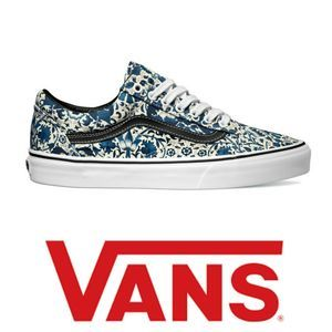 Vans x Liberty Floral Vines Old Skool Sneakers 10